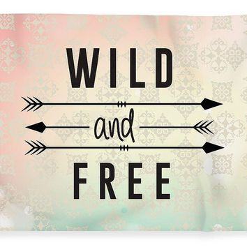 Wild And Free Art - Blanket