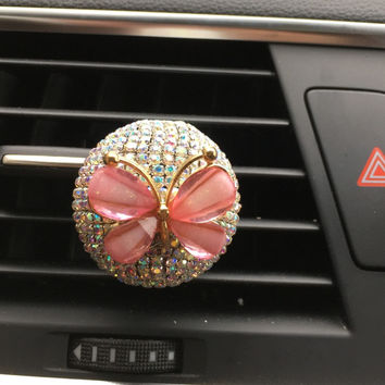Solid Perfume Automotive Air Conditioning Outlet Perfume Fine Car Decoration Cute cartoon lady Car Air Freshener Car styling