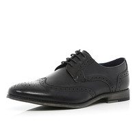 River Island MensBlack formal brogues