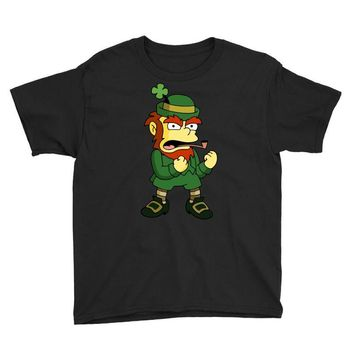 happy saint patrick day simpson 2 Youth Tee