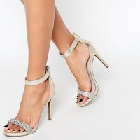 New Look Barely There Heeled Sandals