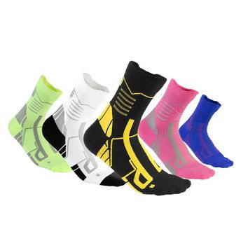 1 Pair High Quality Foot Compression Socks Men Women Workout Running Sport Socks Professional Sweat Breathable Man Cycling Socks