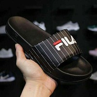 FILA Slip Drifter Woman Men Casual Fashion Slipper Sandals Shoes