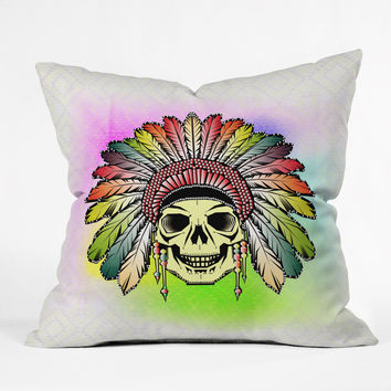 Chobopop Rainbow Warrior Throw Pillow