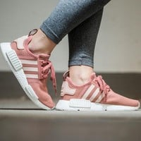 Best Online Sale Adidas NMD R1  Raw Pink S76006 Boost Sport Running Shoes Classic Casual Shoes Sneakers