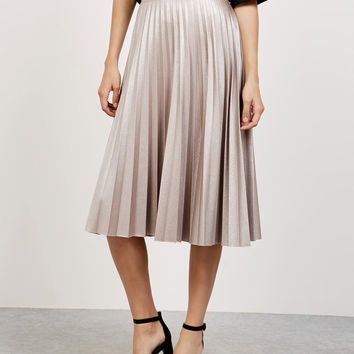 'Shine like a Star' pleated skirt - Skirts - Bershka Germany