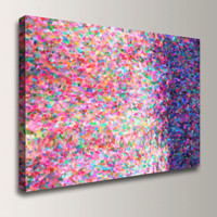 Abstract Colors Wall Art