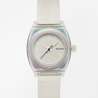 Nixon Small Time Teller Translucent Watch