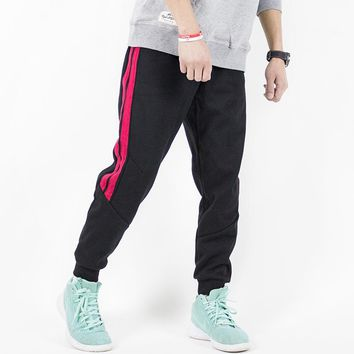 Summer Cotton Breathable Skateboarding Pants Elastic Loose Pants Running Trousers Outdoor Sports Pants Men For Skate Board