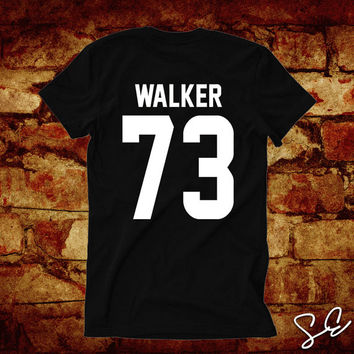 Paul Walker 73 T-Shirt Brian O'Conner Rest In Peace Khalifa RIP See You Again JERSEY Back Numbers