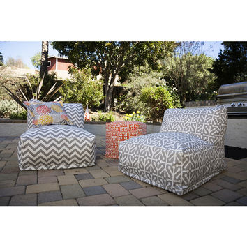 Majestic Home Goods Towers Cube Outdoor Indoor   Overstock.com Shopping - The Best Deals on Ottomans