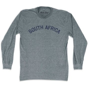 South Africa City Vintage Long Sleeve T-shirt