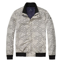 Abstract Design Bomber Jacket by Scotch & Soda