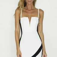 Equilibrium Mini Dress - White