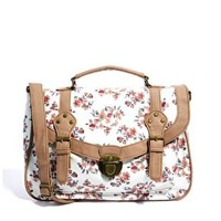 New Look Pastel Floral Satchel at asos.com