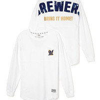 Milwaukee Brewers Bling Varsity Crew - PINK - Victoria's Secret