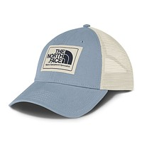 Mudder Trucker Hat in Dusty Blue & Vintage White by The North Face