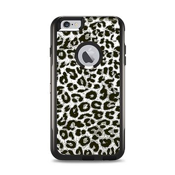 The Nuetral Cheetah Print Vector V3 Apple iPhone 6 Plus Otterbox Commuter Case Skin Set