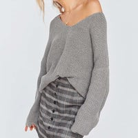 BDG Harper Knit High/Low Sweater | Urban Outfitters Canada