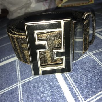 fendi belt men size 32/34