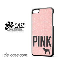 Light Glitter Pink Victoria's Secret DEAL-6491 Apple Phonecase Cover For Iphone 5C