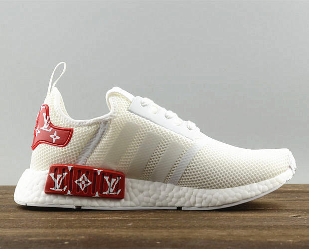 half off 77635 17f1b Adidas NMD X LV Fashion Women/Men Casual Running Sport Shoes White red