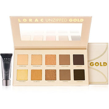 Lorac Unzipped GOLD Eyeshadow Palette | Ulta Beauty