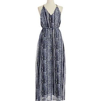 Ivanka Trump Patterned Maxi Dress