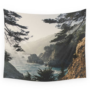 Society6 Big Sur Wall Tapestry