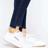 Reebok Club C 85 Sneakers With Gum Sole at asos.com