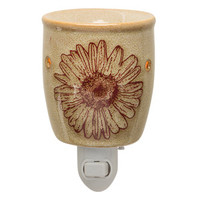 Flower Press Plug-In Scentsy Warmer