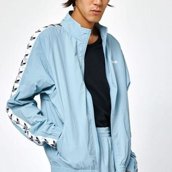 DCCKYB5 adidas TNT Tape Wind Light Blue Track Jacket