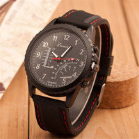 Mens Casual Black Watch Adventure Mountaineering Watches Best Christmas Gift