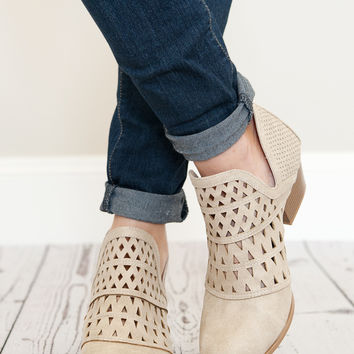 Step Into Spring Booties