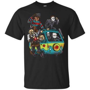 Massacre Machine Horror Film Novelty T Shirt