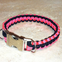 Medium Paracord Dog Collar 14 inches