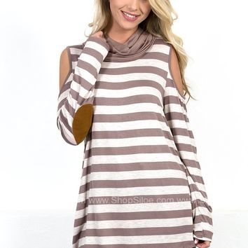 Miss Know-It-All Striped Top