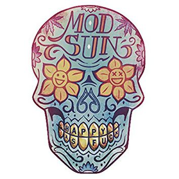 "PVC Sticker ""Mod Sun (6.7x9.7cm)"" By Best Gift Shop"