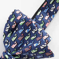 Men's Bow Ties: Silk Whales Printed Bow Tie for Kentucky Derby -Vineyard Vines