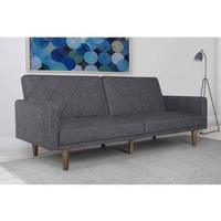 Paxson Linen Futon, Multiple Colors - Walmart.com