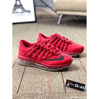 NIKE AIR MAX Fashionable Women Men Leisure Breathable Air Cushion Sport Running Shoe Sneakers Red I-AA-SDDSL-KHZHXMKH