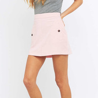 Urban Outfitters Summer Pink Corduroy A-line Skirt - Urban Outfitters
