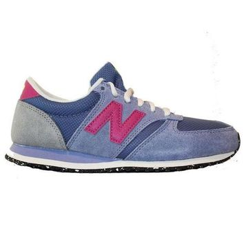 CREYON new balance 420 capsule slate violet suede mesh lifestyle sneaker