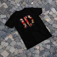 "THE SAMPLE size of the print image on the T-Shirt 10""x10"" One Direction Logo"