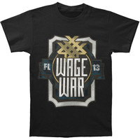 Wage War Men's  Album Symbol T-shirt Black Rockabilia