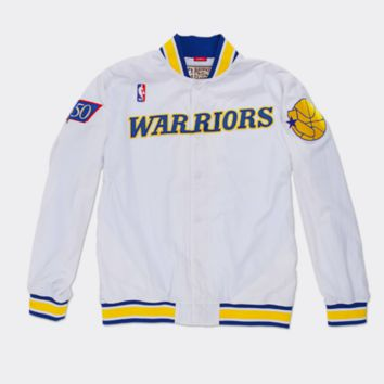 Golden State Warriors 1996-97 Authentic Mitchell & Ness NBA Warm-Up Jacket