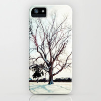 Snow Covered Tree iPhone Case by PrintableWisdom | Society6