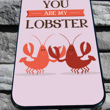 Cute Friends Lobster Quote Pink Love for iPhone 4/4s/5/5S/5C/6, Samsung S3/S4/S5 Unique Case *95*