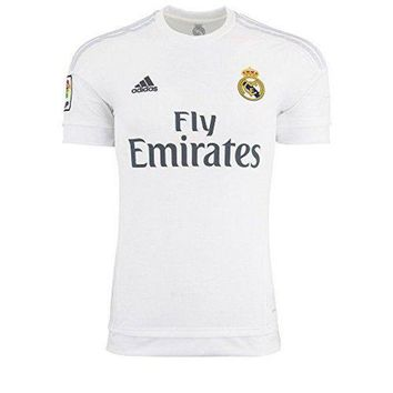 Adidas Mens Real Madrid Home Replica Soccer Jersey 67246628a