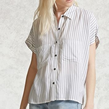 Striped Boxy Shirt